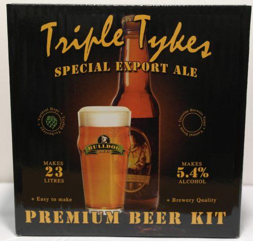 Bulldog Brews Triple Tykes Special Export Ale