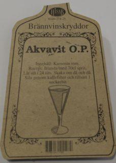 Akvavit O.P.