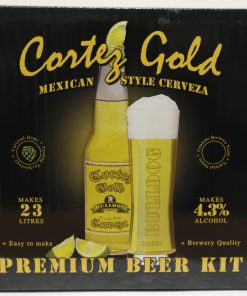 Bulldog Brews Cortez Gold Mexican Cerveza