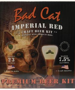 Bulldog Brews Bad Cat Imperial Red.