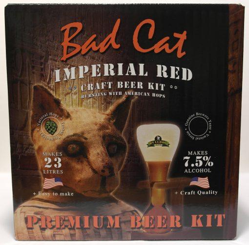 Bulldog Brews Bad Cat Imperial Red.