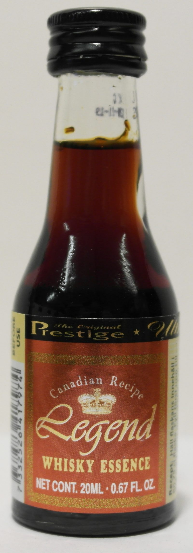 Prestige Canadian Recipe Legend Whisky Essence