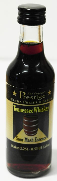 Prestige Tennessee Whiskey. Sour Mash Essence