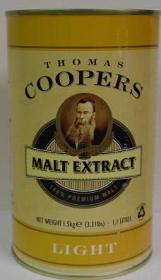 Coopers Light Maltekstrakt