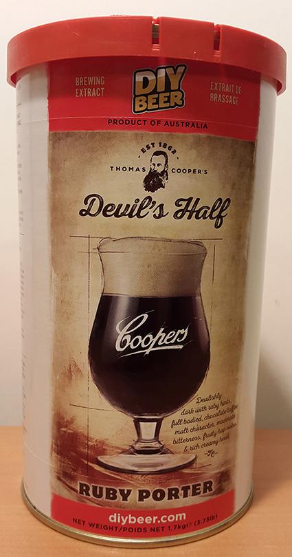 Coopers Devils Half Ruby Porter