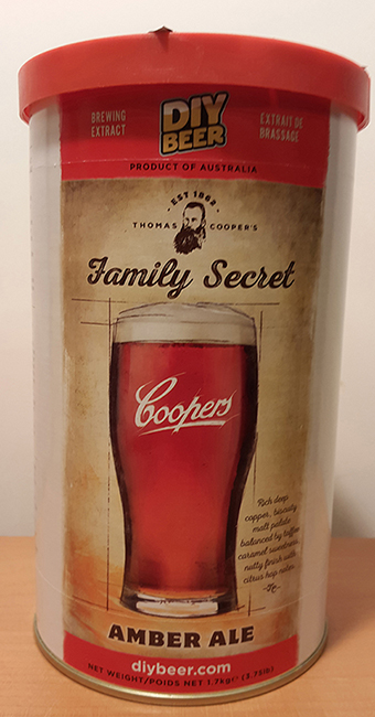 Coopers Family Secret Amber Ale
