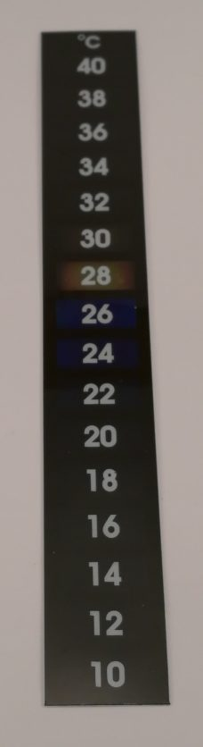 Stickon termometer